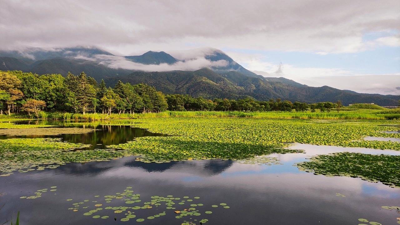 ただただ美しかった夕刻の知床五湖 - Shiretoko five lakes landscape_b0108109_20474578.jpeg