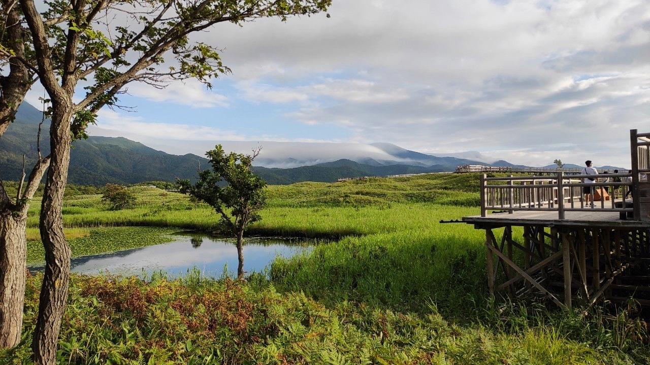 ただただ美しかった夕刻の知床五湖 - Shiretoko five lakes landscape_b0108109_22185835.jpeg