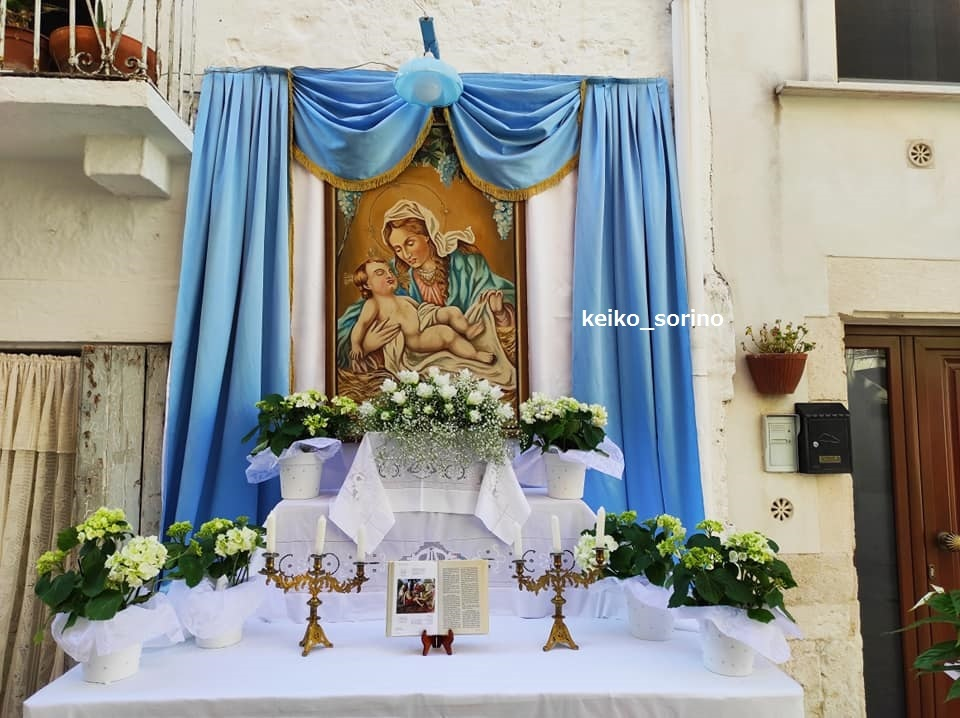 イタリアの三大祝日!プーリア(わが町)の「フェッラゴスト」_b0305039_21065093.jpg