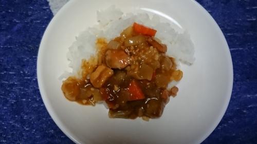 訓練!!湯煎で御飯とカレーを作りました _d0390236_08311679.jpg