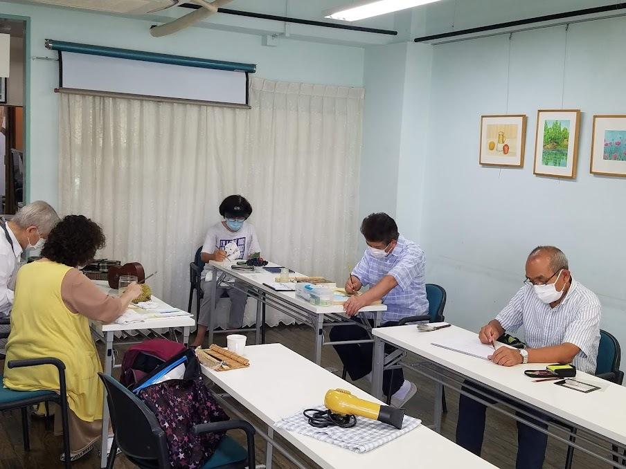 歌声サロン&水彩画教室_c0113948_13493181.jpg