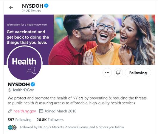 健康に役立つ情報満載のニューヨーク州保健局(NYSDOH、@HealthNYGov)のツイート_b0007805_02091158.jpg