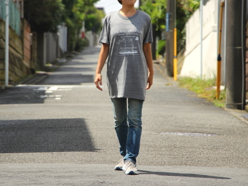 8月20日は休業致します。   デイリーTシャツの新しい着方?!_d0108933_22023080.jpg
