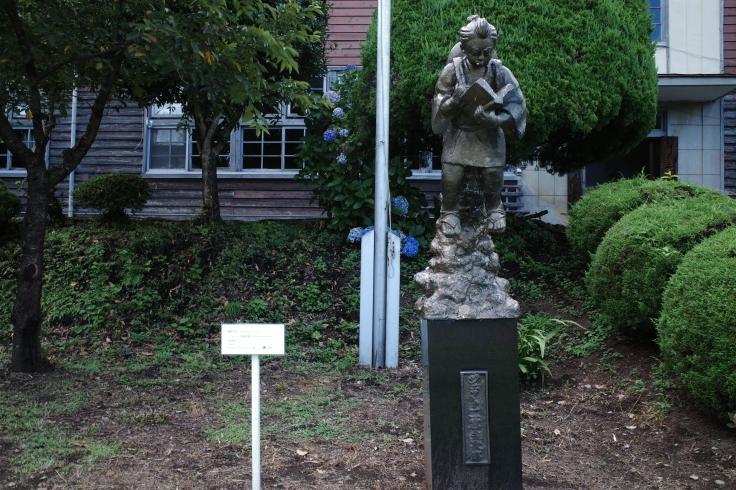 ブロンプトンと夏の長野県へ その15 ~ ジェット二宮金次郎像を見に伊参スタジオ公園へ_a0287336_08493823.jpg
