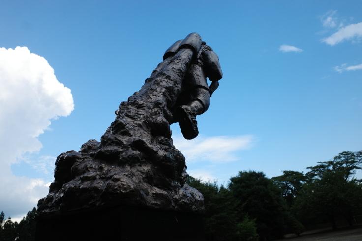 ブロンプトンと夏の長野県へ その15 ~ ジェット二宮金次郎像を見に伊参スタジオ公園へ_a0287336_09132033.jpg