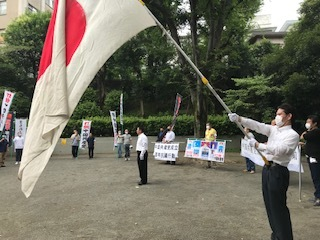 <中国共産党成立百年抗議行動>_c0290443_12454492.jpg