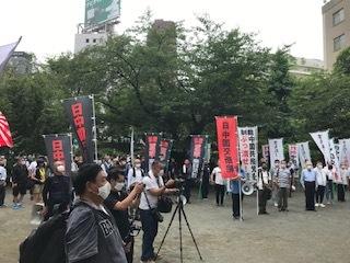 <中国共産党成立百年抗議行動>_c0290443_12471623.jpg