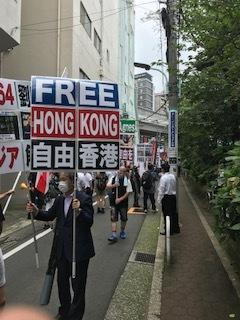 <中国共産党成立百年抗議行動>_c0290443_12482957.jpg