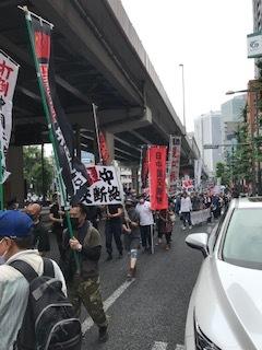 <中国共産党成立百年抗議行動>_c0290443_12493967.jpg
