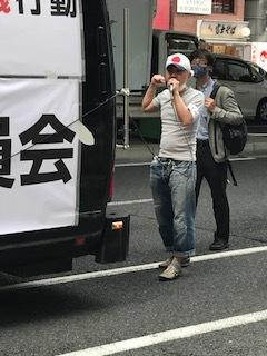 <中国共産党成立百年抗議行動>_c0290443_12510047.jpg