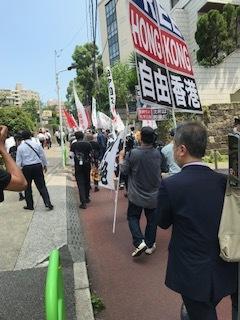 <中国共産党成立百年抗議行動>_c0290443_12554567.jpg