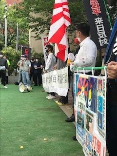 <中国共産党成立百年抗議行動>_c0290443_12582748.jpg