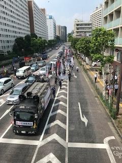 <中国共産党成立百年抗議行動>_c0290443_13421602.jpg