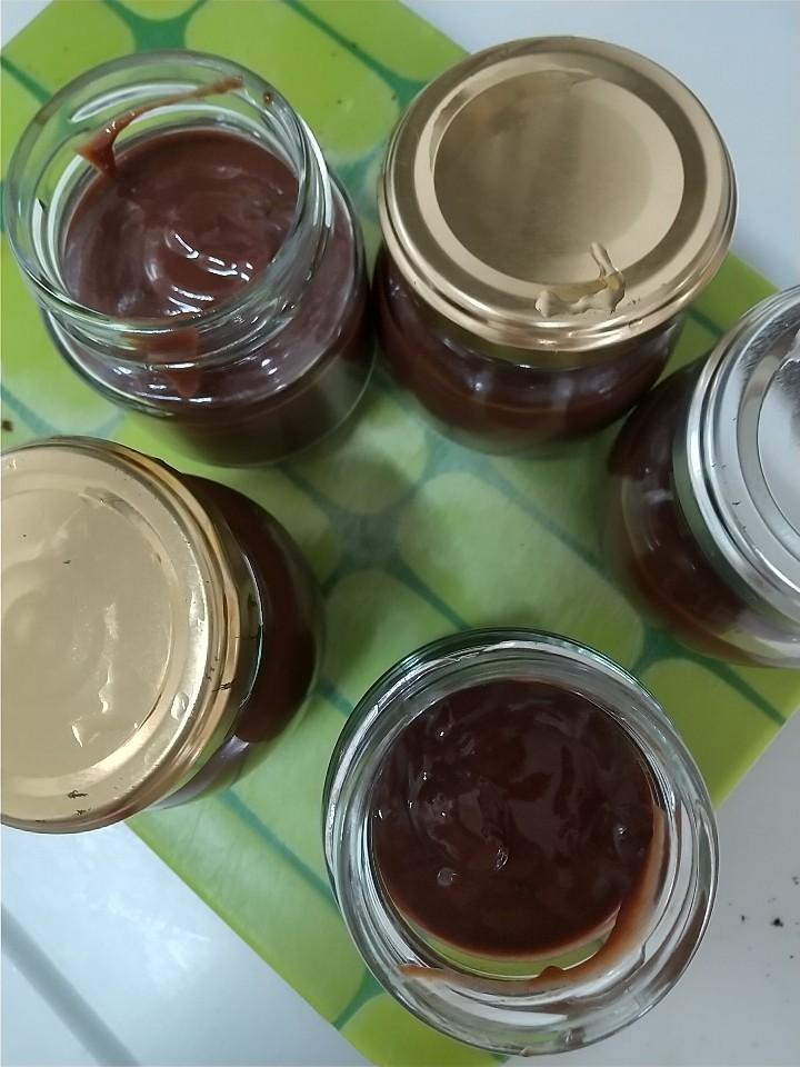 発酵チョコバナナソース_e0251855_08395627.jpg