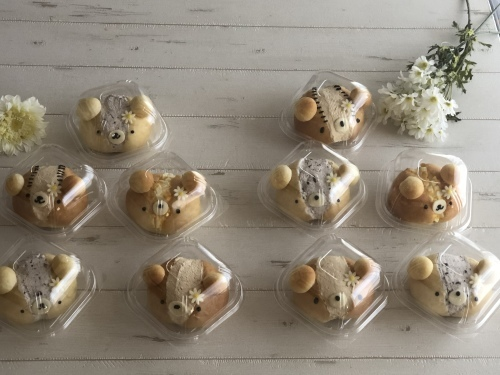 Rena* sweets8月『クマリトッツォ』_e0159185_12391337.jpeg