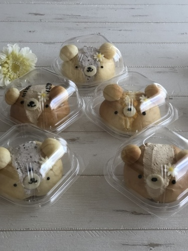Rena* sweets8月『クマリトッツォ』_e0159185_12400088.jpeg