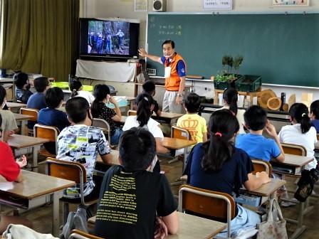 小学校訪問(一緒に森へ行こう) 豊川市立桜木小学校_d0105723_18121050.jpg