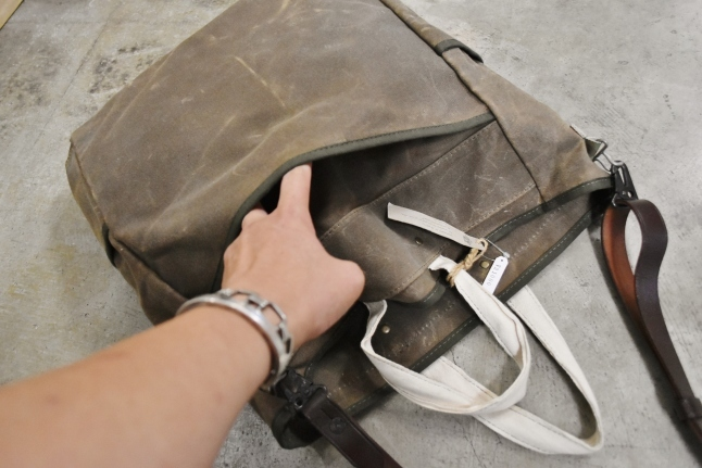 Archival Clothing  Vintage TOTE BAG MADE IN USA★_d0152280_13403381.jpg