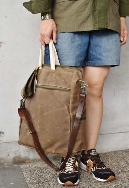 Archival Clothing  Vintage TOTE BAG MADE IN USA★_d0152280_13412335.jpg