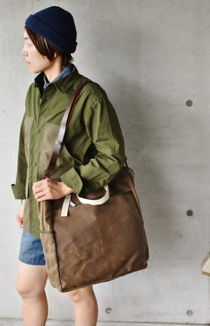 Archival Clothing  Vintage TOTE BAG MADE IN USA★_d0152280_13421943.jpg