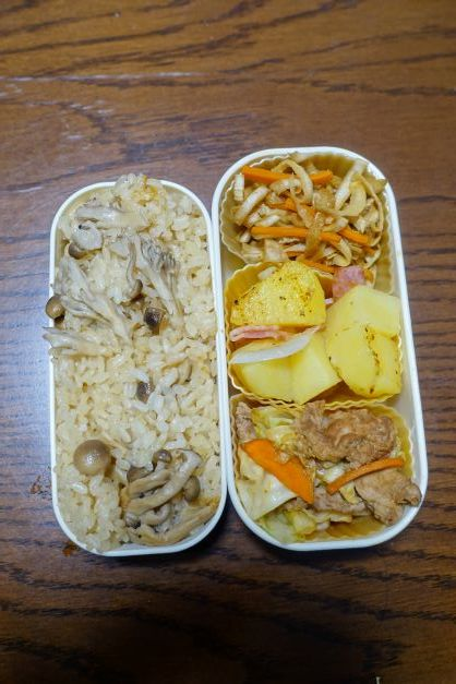 ある日のお弁当(回鍋肉)_b0287241_06355638.jpg