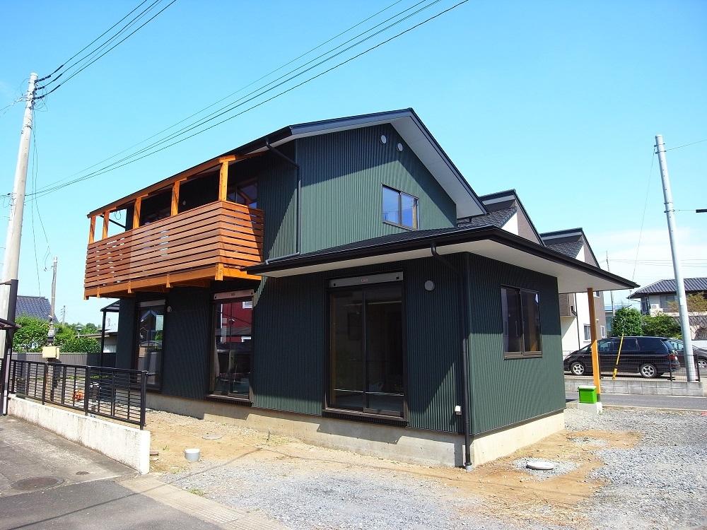 千波の家 まもなく完成 2021/8/30_a0039934_15052247.jpg