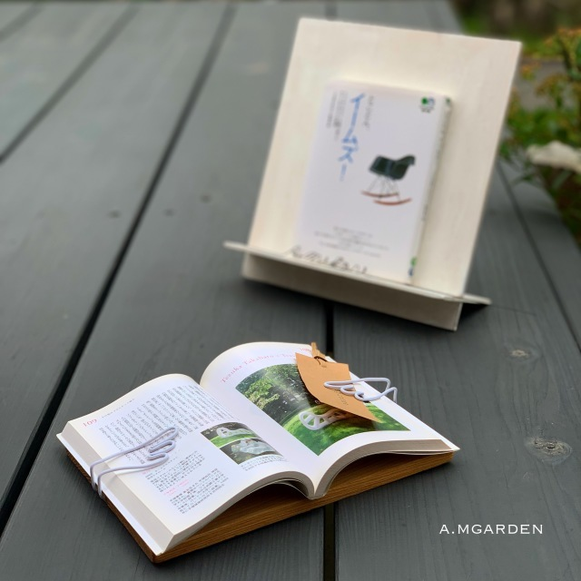 book pageホルダーとbook stand。_b0125443_13304512.jpeg