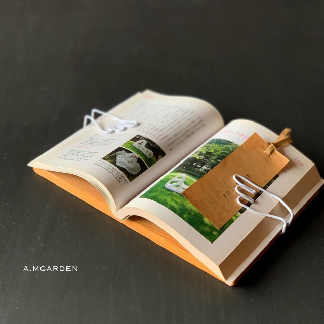 book pageホルダーとbook stand。_b0125443_13330561.jpeg