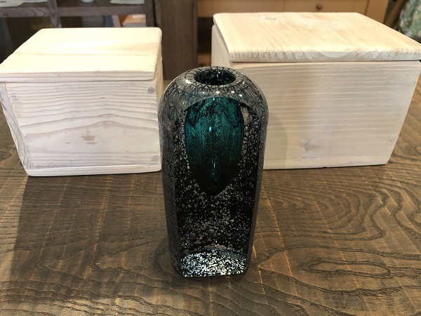 土屋章さんのガラス作品が届きました_b0100229_14440065.jpg