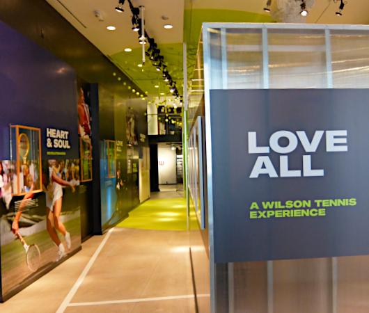 """ウィルソン史上初『テニスの博物館』、\""""Love All: A Wilson Tennis Experience\"""" をNYにオープン_b0007805_00325268.jpg"""