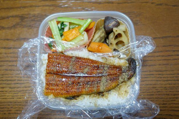 ある日のお弁当(うな丼)_b0287241_06181515.jpg