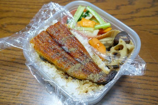 ある日のお弁当(うな丼)_b0287241_06183250.jpg