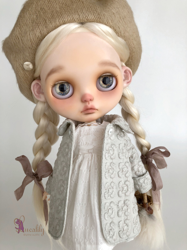 *lucalily * dolls clothes* Flower embroidery coat set *_d0217189_10365652.jpeg