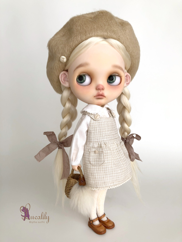 *lucalily * dolls clothes* Flower embroidery coat set *_d0217189_10370789.jpeg