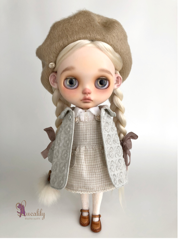 *lucalily * dolls clothes* Flower embroidery coat set *_d0217189_10371638.jpeg