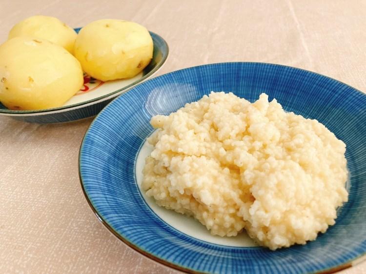 雑穀を入れて栄養価アップ!もちもち美味しいヒエニョッキの作り方_c0405952_11253615.jpg