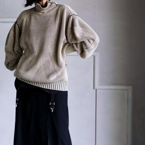 AKIKOAOKI Dual face knit_e0096563_22270303.jpg