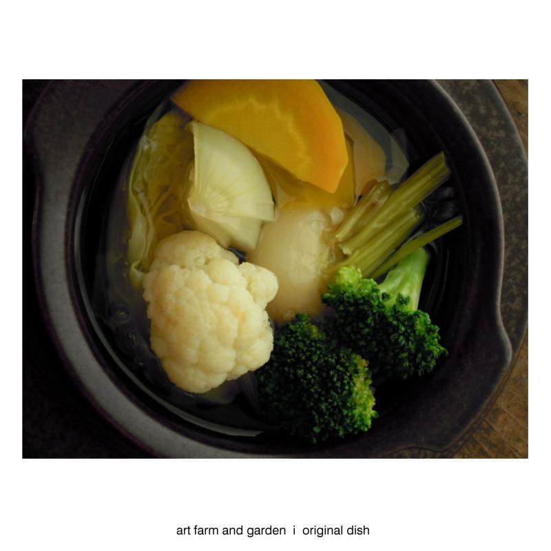 たくさん野菜のスープ/[アート農場と庭]のアートフード_b0290469_12240651.jpg
