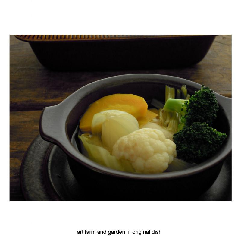 たくさん野菜のスープ/[アート農場と庭]のアートフード_b0290469_12243605.jpg