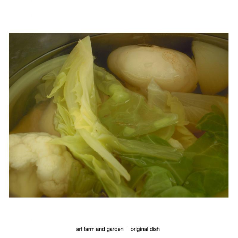 たくさん野菜のスープ/[アート農場と庭]のアートフード_b0290469_12245164.jpg