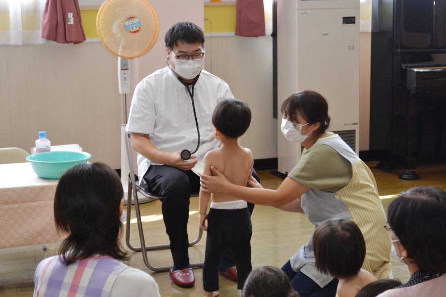 内科検診を行いました。_d0353789_14561916.jpg
