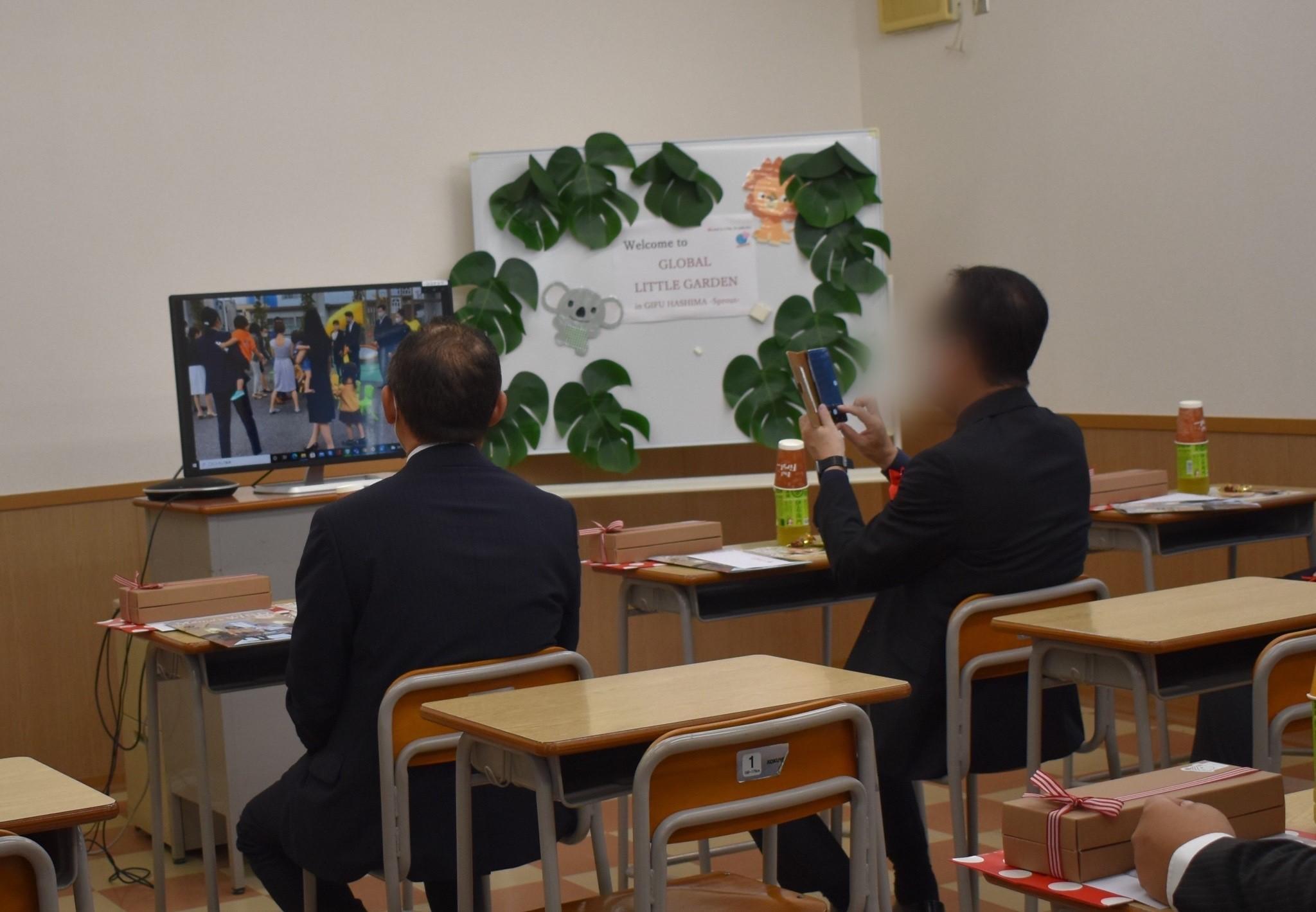 ママーズインターナショナルキンダースクールの入学式&開校式をおこないました_e0138299_13232958.jpg
