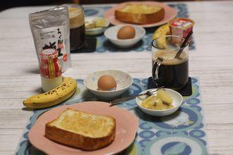 8/25-9/3 日々のごはん 酒種の角食、白パン、レモンチョコぱん、塩バニラシフォンケーキ_f0196800_19330512.jpg