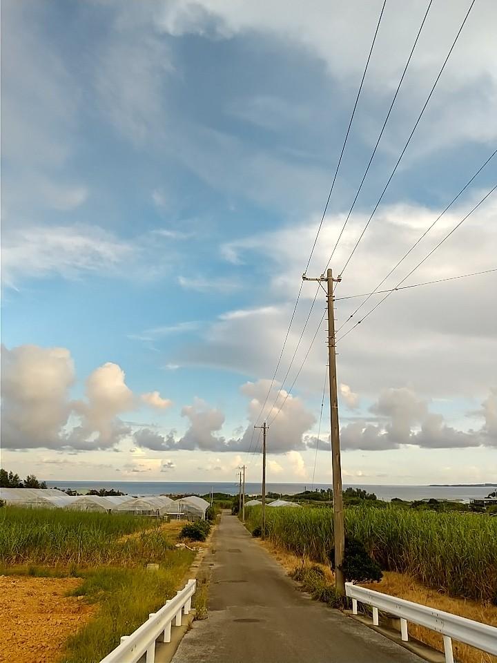 雲。虹。夕陽。夕焼け。_e0251855_19414745.jpg
