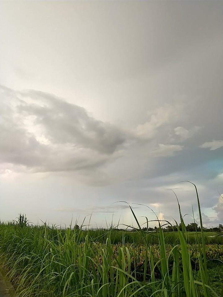 雲。虹。夕陽。夕焼け。_e0251855_19433650.jpg