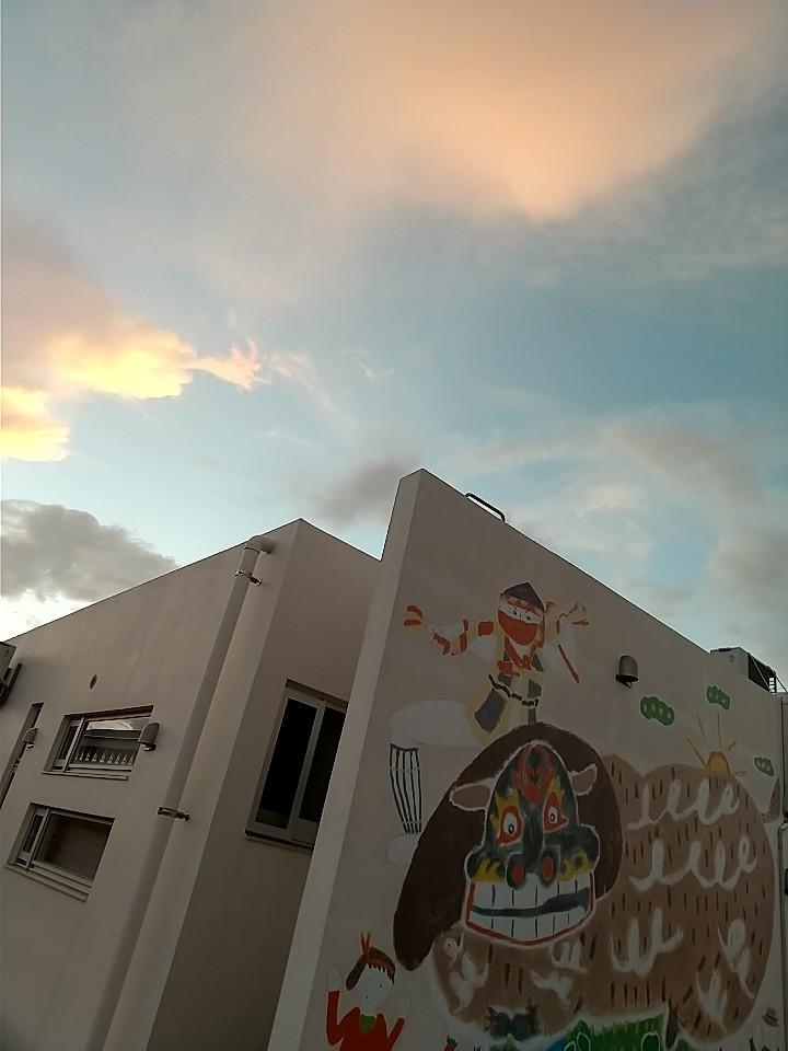 雲。虹。夕陽。夕焼け。_e0251855_19474252.jpg