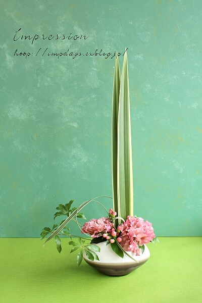 定期装花から トルコギキョウ_a0085317_18392845.jpg