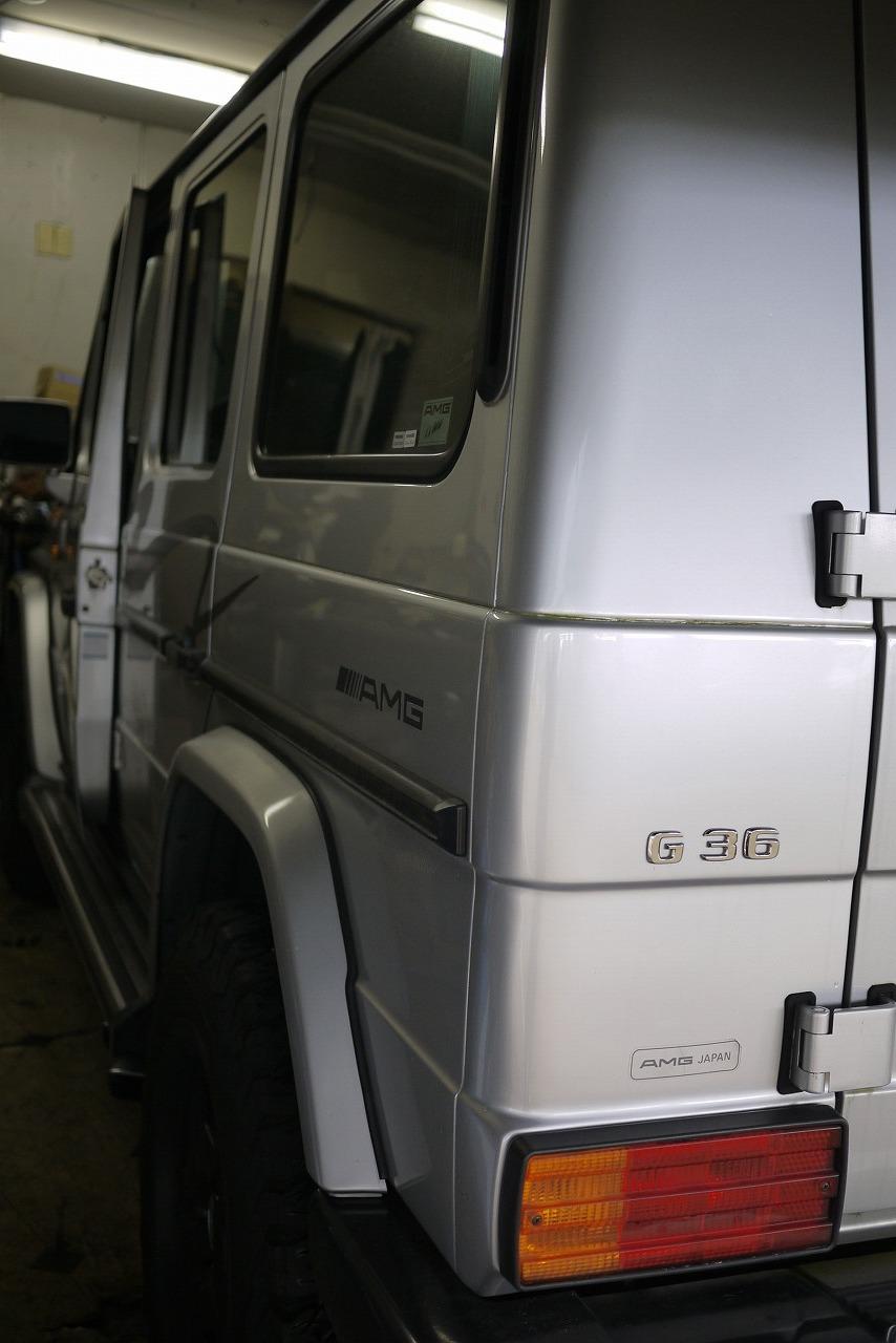 W463 AMG G36 ウインカーレバー交換 そしてあり得ない そして救い_d0171835_16562674.jpg