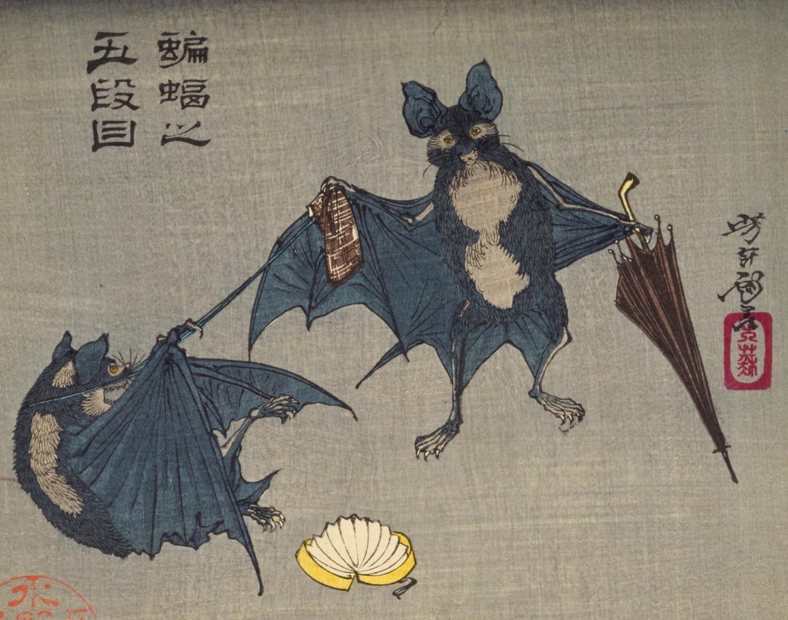 【江戸時代】相合傘の研究(というほどではなく今まで散発的にメモしたものをまとめました)【番傘か蝙蝠か】_b0116271_12500417.jpg