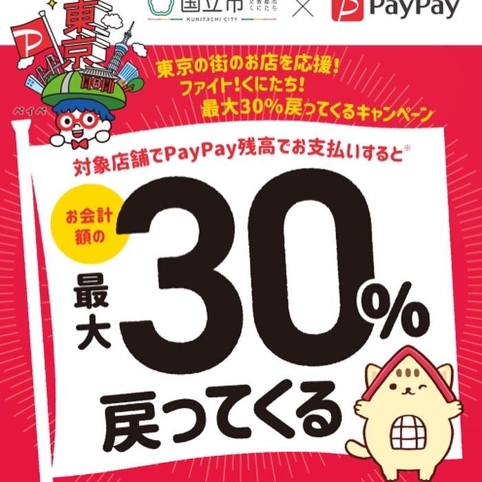 PayPay30%還元_a0153945_10211205.jpg